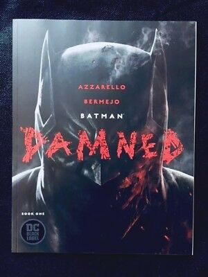 Batman Damned #1 DC Comics Black Label *HOT * UNCENSORED * FIRST PRINT *Sold Out