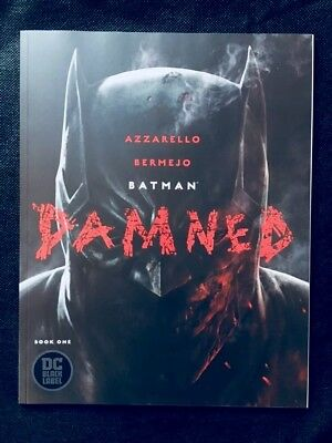 Batman Damned #1 Black Label *HOT * UNCENSORED * FIRST PRINT *Sold Out DC Comics
