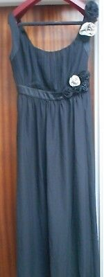 Black sleeveless formal/cocktail dress size 14 Brand new with tags