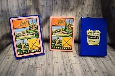 Playing Cards- Souvenir of Gettysburg, PA New Sealed
