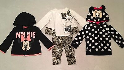 Lot Of Minnie Mouse Clothes Baby Girl 9-12 Months