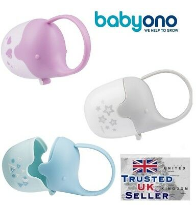 Baby Soother Travel Box Elephant Pod Holder Great storage for Pacifier teat New