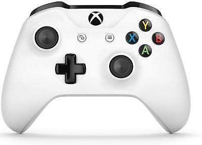Official Microsoft Xbox One S White Controller Wireless Bluetooth Window 10 NICE