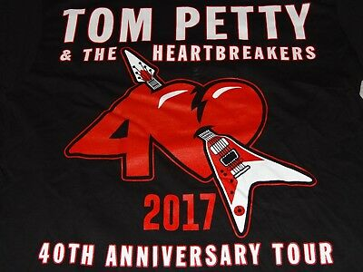 2017 Tom Petty & The Heartbreakers Vintage Concert Tour T-Shirt (And Joe Walsh)