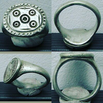 Low Outbid1$!! Extremely Rare Ancient Legionary Silver Ring, Value:1300$