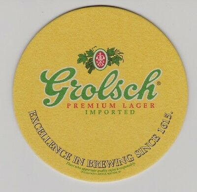Grolsch Premium Lager Beer Coasters - Sleeve of 100 Bar Pub Pack