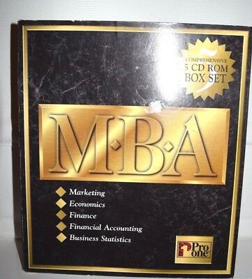 MBA - An Essential Career Development Resource.  A Complete Master's Course in a