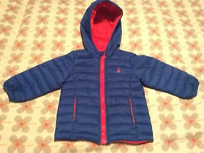 Joules Boys Hooded Jacket (9-12 Months)