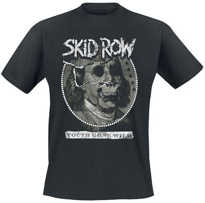 Skid Row Youth Gone Wild T-Shirt schwarz