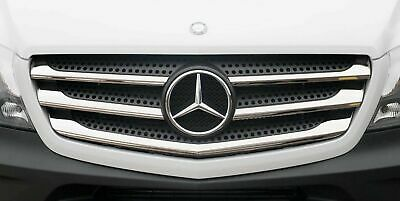 Mercedes Sprinter Front Grille Chrome Trim Strip Stainless 5Pcs 2013 To 2018 UK