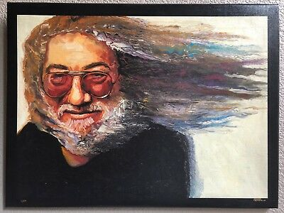 Magical, Signed/#'d Phil Kutno Painting Of Jerry Garcia (1/50), Pre-Owned, 2010