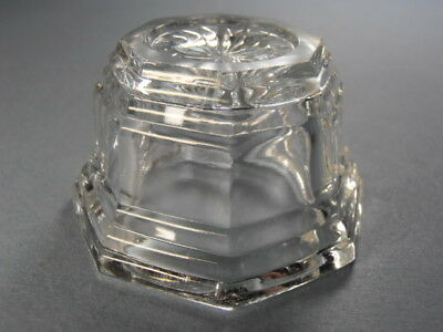 Scarce Heisey URN Pattern Pressed Glass Open Salt Cellar Dip by DUNCAN HJ2872