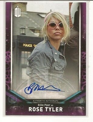 2018 Topps Doctor Who Signature Series BILLIE PIPER as Rose Tyler  AUTOGRAPH