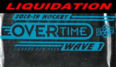 2018-19 Ud Overtime Wave 1 ((( Pick Your Cards ))) Wow!!