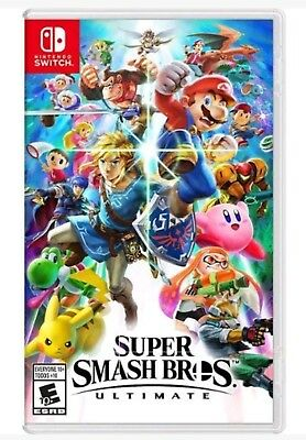 Super Smash Bros. Ultimate * Nintendo Switch * Brand New Factory Sealed!