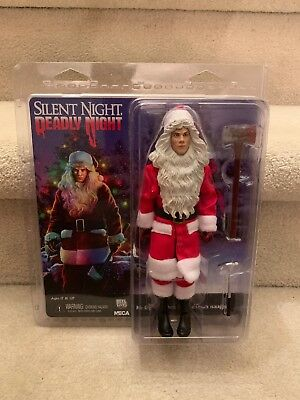 """Neca Silent Night Deadly Night Billy 8"""" Clothed Action Figure"""