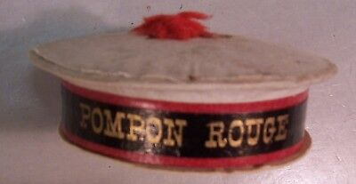 Super Antique French Candy Container in the form of a Hat