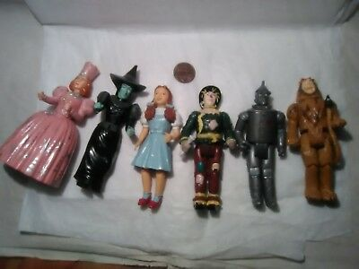 Wizard Of Oz Playset Toy Figures Dorothy Witches Turner MTC PRC 1988 LAND OF OZ!