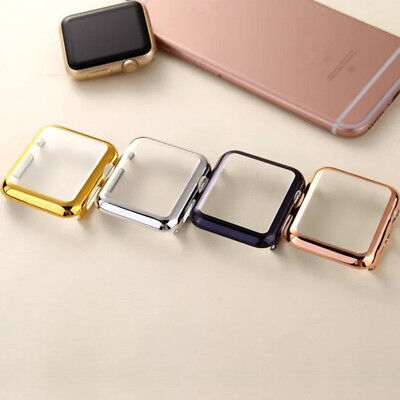 Case Cover with Screen Protector For Apple Watch Series 4 40mm 44mm