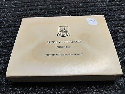 1976 British Virgin Islands 6-Coin Proof Set with Silver w/Box and COA  - #55