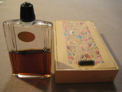 L' OR de COTY Large Perfume Bottle in Original Box with Perfume RARE