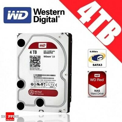 Western Digital WD Red NAS 4TB 3.5-inch Hard Drive Disk Network Attached Storage