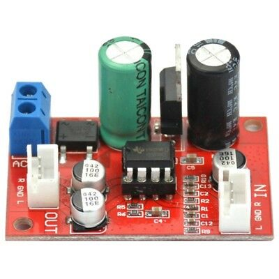 NE5532 Stereo Pre-amp magnetic head Phono amplifier board Moving Coil Micro Z3Y7