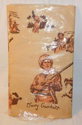 RARE 1950's Walt Disney Davy Crockett Birthday Table Cover MINT IN PACKAGE