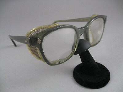 VINTAGE Z87 AMERICAN Optical AO Safety Glasses Flex Fit 6M Wire Side Shields