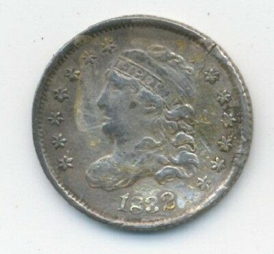 1832 SILVER Capped Bust HALF DIME