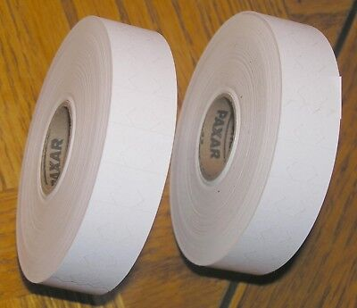 2 Rolls Genuine Avery Dennison/Monarch 1131 Plain White Price Gun Labels