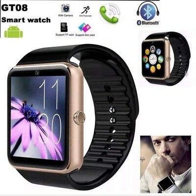 Smartwatch Reloj Inteligente Phone GT08 Android Samsung IOS iPhone Bluetooth SIM