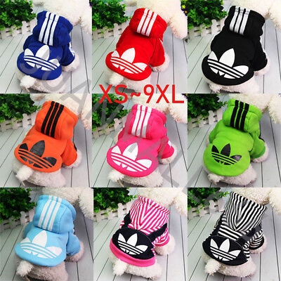 Pet Dog Cat Puppy Warm Clothes Hoodie Coat Costume Apparel Small Large Jackets