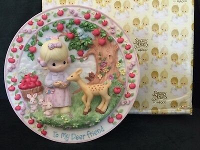 "Set of 6:  NEW Precious Moments ""Sharing The Moments"" Plates"