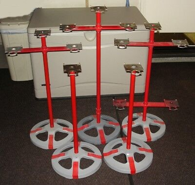 5 Vintage Ford Gumball Machine Stands  ** LOCAL PICK-UP ONLY in RIVERSIDE, CA **