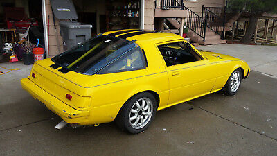 RX-7 Track/Race car W/Trailer and Pit Bike
