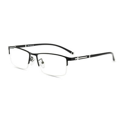 b2d7f00220eb Men TR90 Half rimless Designer Eyeglass Frames Optical Glasses RX Eyewear  Frame