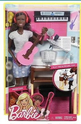 Barbie Musician Doll & Playset, African American