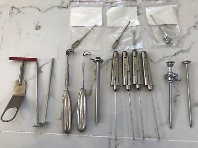 Quantity of Surgical Instruments including Acufex & Aesculap