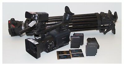 Panasonic AG-HPX171E configuration with P2 Cards and Tripod System