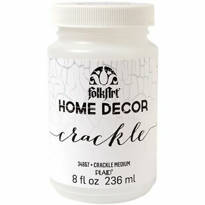 FolkArt Home Decor Crackle Medium 8oz -HDCCRCK