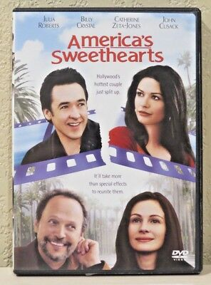 Americas Sweethearts (DVD, 2001) >>>>>>>>>>>>>>>>>FREE SHIPPING!