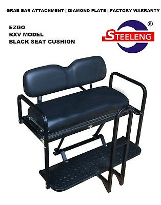 EZGO GTW Replacement Steel Footplate for Mach1 Rear Seat Kits Club Car Yamaha