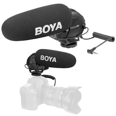 BOYA BY-BM3030 On-Camera Shotgun Microphone Video Mic for DSLR Cameras Video
