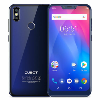 4GB+64GB Cubot P20 Android 8 4G Dual SIM Smartphone 6.18″ Octa Core FHD+ Handy