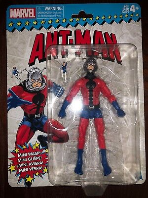 Marvel Legends ANT-MAN Vintage Wave 2 Super Heroes 6 Inch IN STOCK