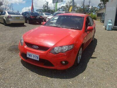 2008 Ford Falcon FG XR6 Red Automatic 5sp A Sedan