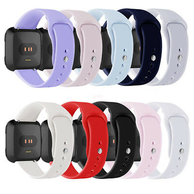 For Fitbit Versa Smartwatch Silicone Replacement Sports Classic Band Strap L#
