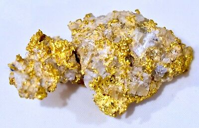 Important Australian Natural GOLD NUGGET High Carat Weighs 33.49 Grams