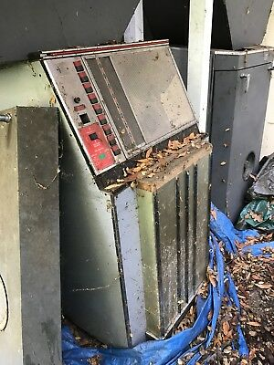 4 Scopitone video jukeboxes for parts only, no films